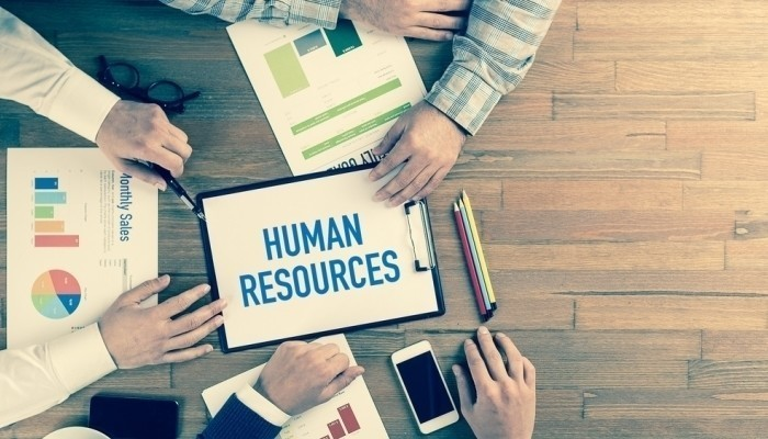 human resources on clipboard
