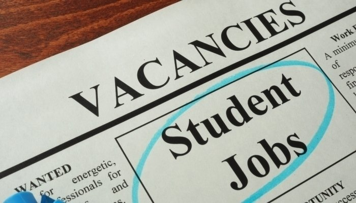 student jobs in newspaper