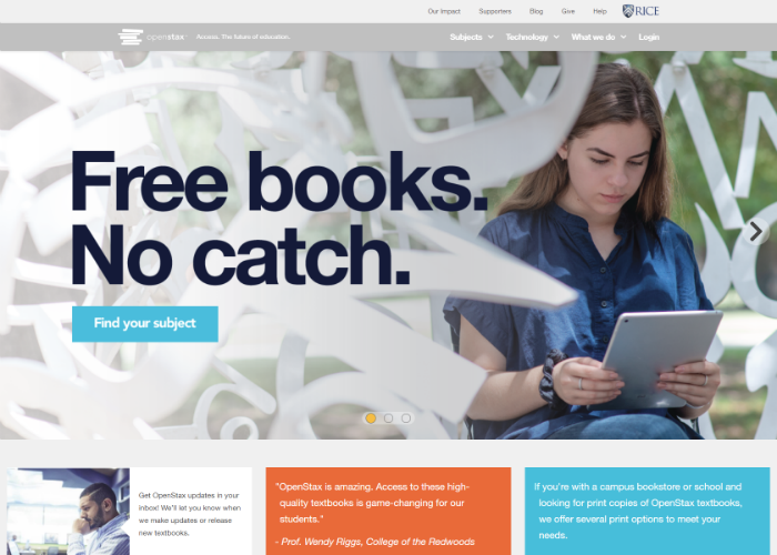 9 Fantastic Websites that Offer Free College Textbooks