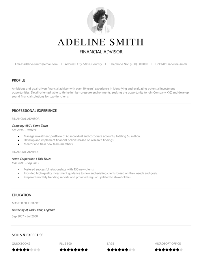 5 Years Experience Resume Format from cdn3.careeraddict.com