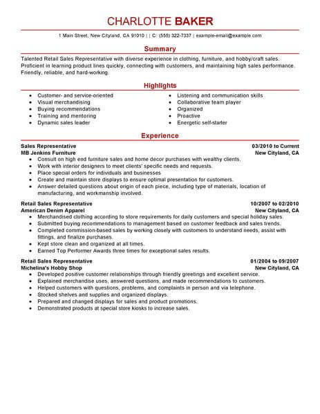 10 Inspiring Customer Service Resume Examples And Templates