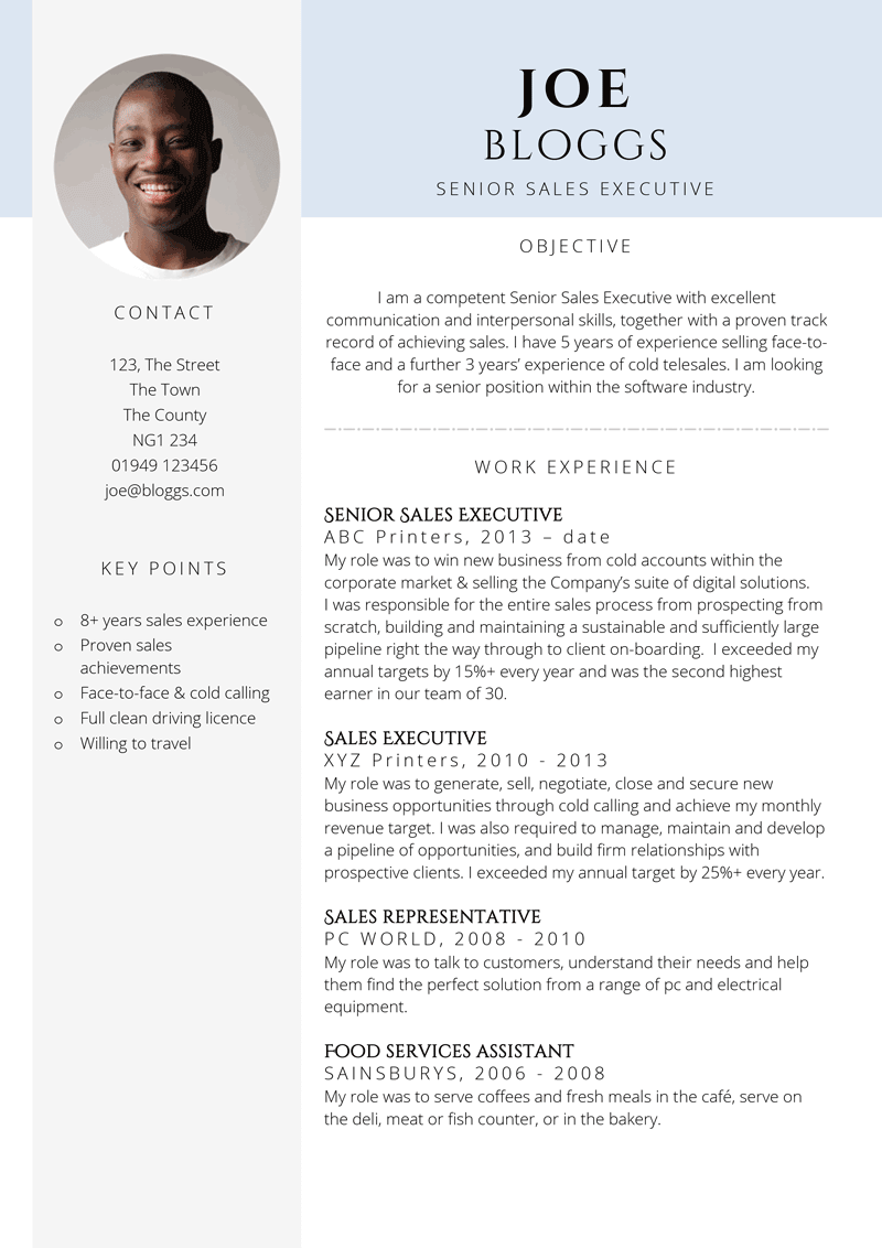Good executive resume format dr phil resume